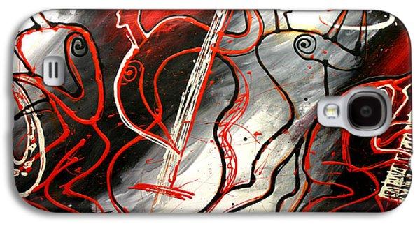 Free Jazz Galaxy S4 Case by Leon Zernitsky