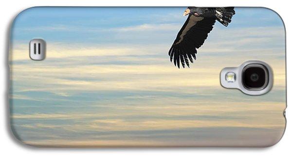 Free To Fly Again - California Condor Galaxy S4 Case by Daniel Hagerman