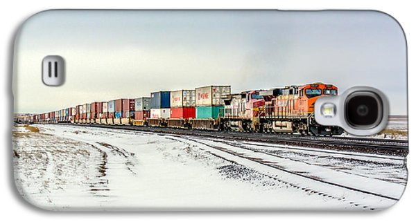 Train Galaxy S4 Case - Freight Train by Todd Klassy