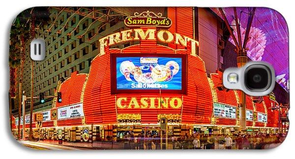 Fremont Casino Galaxy S4 Case by Az Jackson