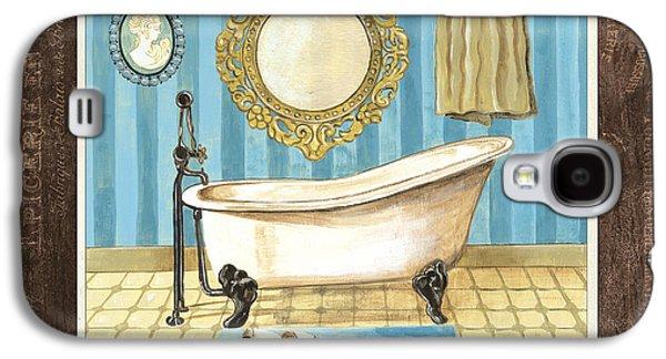 Claw Paintings Galaxy S4 Cases - French Bath 1 Galaxy S4 Case by Debbie DeWitt