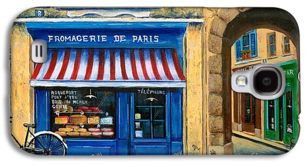 French Cheese Shop Galaxy S4 Case by Marilyn Dunlap