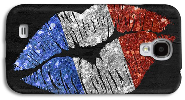 French Kiss Galaxy S4 Case by Mindy Sommers