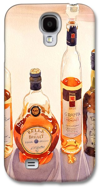 French Liqueurs Galaxy S4 Case by Mary Helmreich