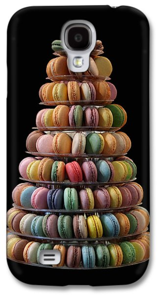French Macarons Galaxy S4 Case by Rona Black