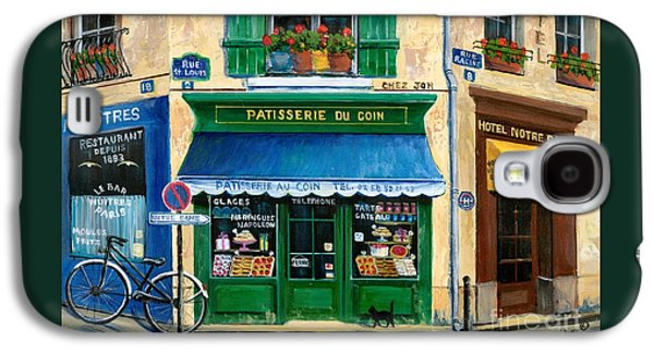 Notre Dame Galaxy S4 Case - French Pastry Shop by Marilyn Dunlap