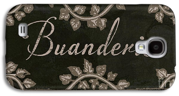 French Vintage Laundry Sign Galaxy S4 Case by Mindy Sommers