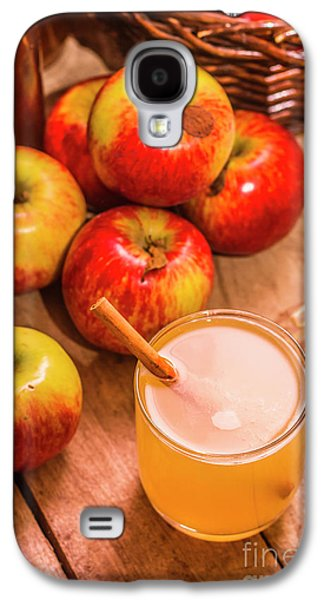 Fresh Apple Juice With Cinnamon Galaxy S4 Case by Jorgo Photography - Wall Art Gallery