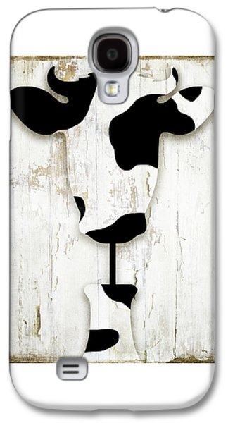 Cow Galaxy S4 Case - Fresh Dairy by Mindy Sommers