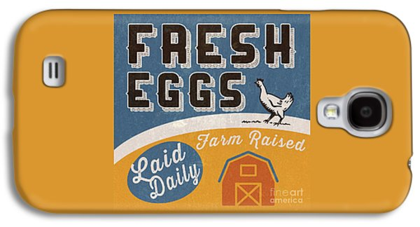 Fresh Eggs Laid Daily Retro Farm Sign Galaxy S4 Case