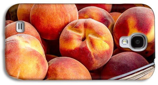 Fresh Peaches Galaxy S4 Case by Teri Virbickis