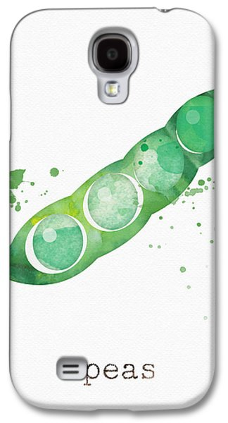 Truck Galaxy S4 Case - Fresh Peas by Linda Woods
