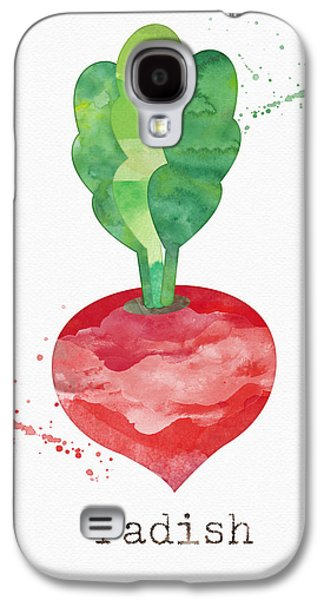Fresh Radish Galaxy S4 Case by Linda Woods