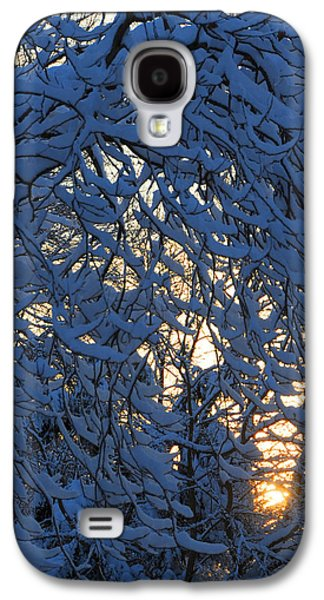 Fresh Snow At Sunrise Galaxy S4 Case