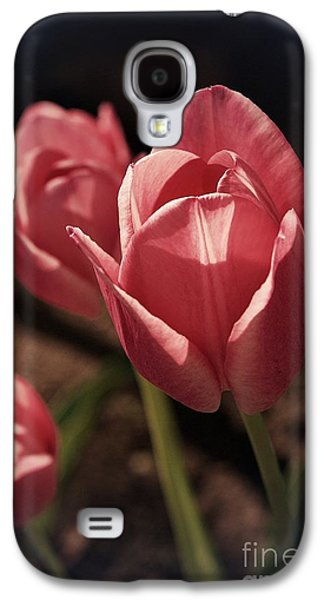 Friends Are Flowers In The Garden Of Life - Border Galaxy S4 Case