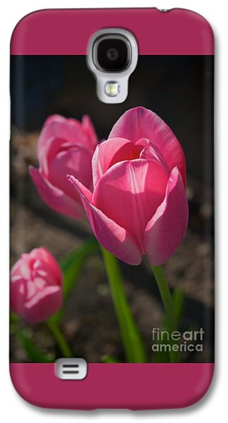 Friends Are Flowers In The Garden Of Life Galaxy S4 Case