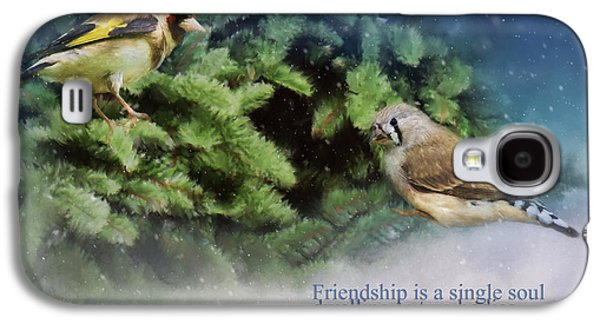 Friendship Is - Bird Art Galaxy S4 Case