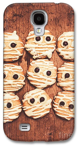 Frightened Mummy Baked Biscuits Galaxy S4 Case by Jorgo Photography - Wall Art Gallery