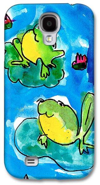 Frogs Galaxy S4 Case by Elyse Bobczynski Age Five