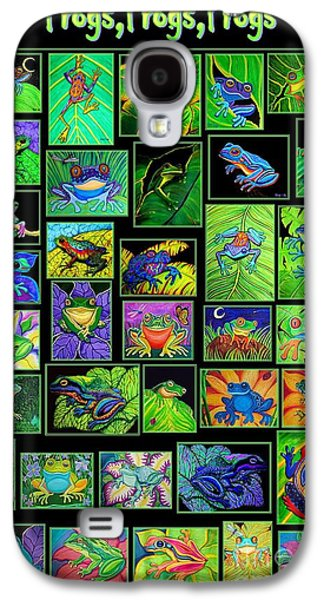 Frogs Poster Galaxy S4 Case