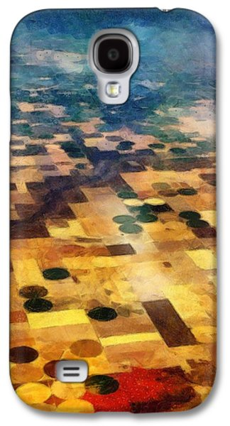Galaxy S4 Case featuring the digital art From Above by Michelle Calkins