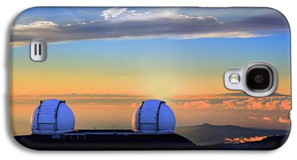 From Mauna Kea To Haleakala Galaxy S4 Case by DJ Florek