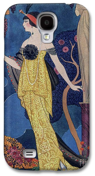 Front Cover Of Les Modes Galaxy S4 Case by Georges Barbier