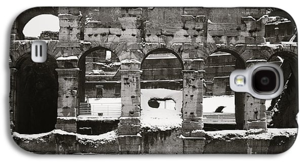Frosted Colosseum In Rome Galaxy S4 Case by Stefano Senise