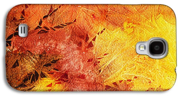Frosted Fire II Galaxy S4 Case