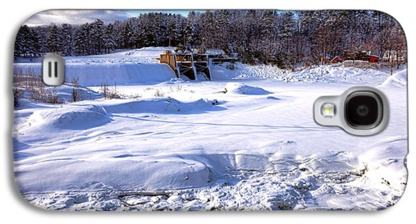 Frozen Androscoggin River Galaxy S4 Case