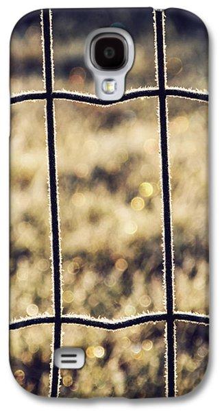 Frozen Fence Galaxy S4 Case by Wim Lanclus