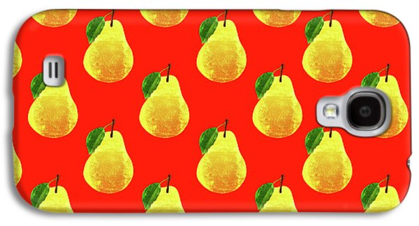 Fruit 03_pear_pattern Galaxy S4 Case
