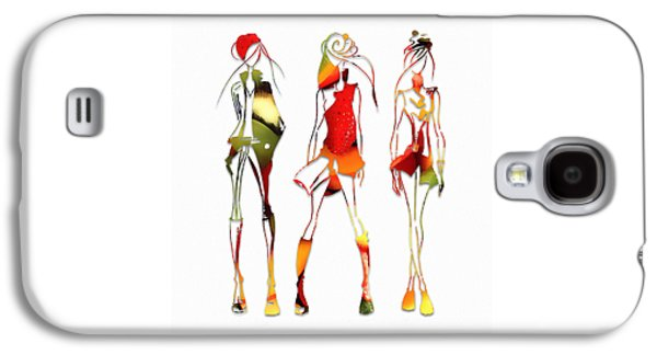 Fruit Salad Runway Models Galaxy S4 Case