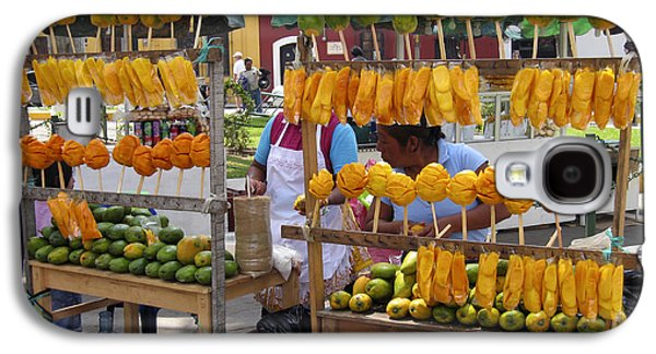Fruit Stand Antigua  Guatemala Galaxy S4 Case