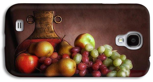 Fruit With Vase Galaxy S4 Case by Tom Mc Nemar