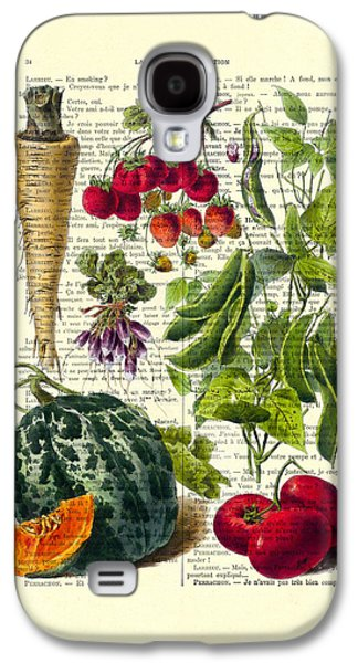 Fruits And Vegetables Kitchen Decoration Galaxy S4 Case