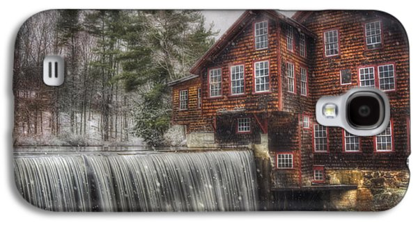 Frye's Measure Mill - Winter In New England Galaxy S4 Case by Joann Vitali