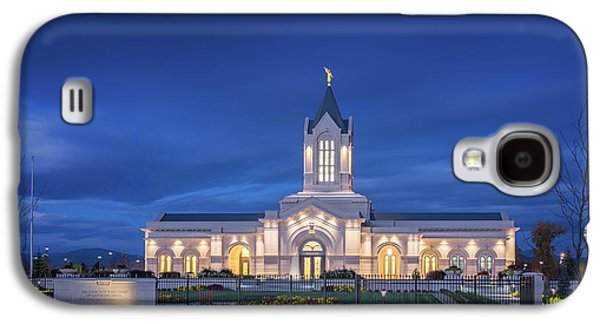 Ft Collins Lds Temple Galaxy S4 Case by Kelly C Jones