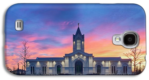 Ft. Collins Temple At Sunrise Galaxy S4 Case by Kelly C Jones