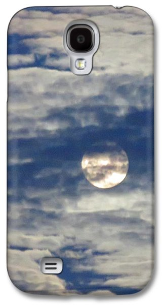 Full Moon In Gemini With Clouds Galaxy S4 Case