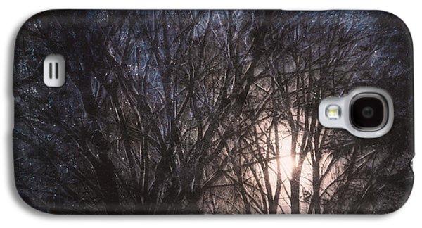 Full Moon Rising Galaxy S4 Case by Scott Norris