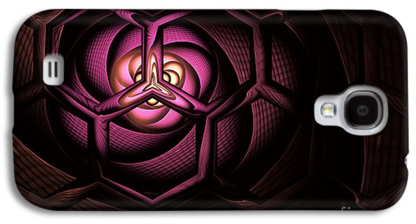 Fullerene Galaxy S4 Case by John Edwards