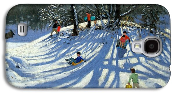 Fun In The Snow Galaxy S4 Case by Andrew Macara
