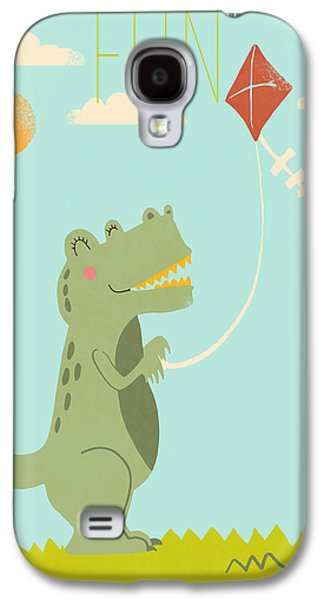 Fun Galaxy S4 Case by Nicole Wilson