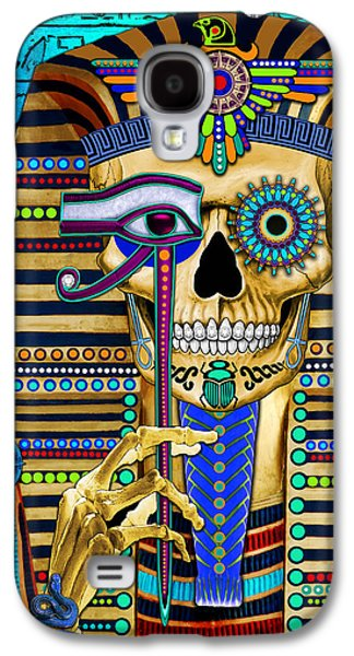Funky Bone Pharaoh Galaxy S4 Case
