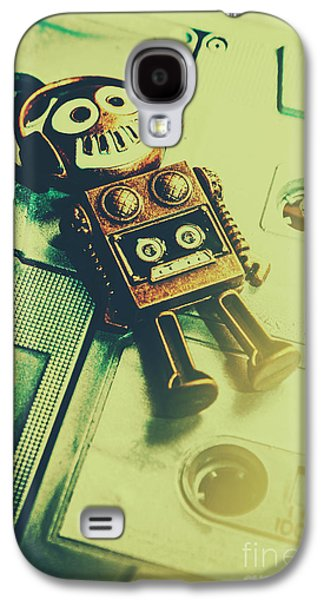 Funky Mixtape Robot Galaxy S4 Case by Jorgo Photography - Wall Art Gallery
