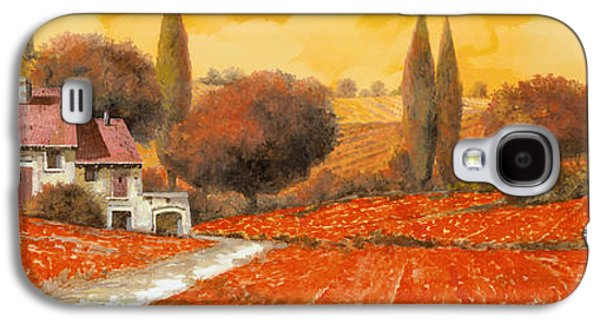 fuoco di Toscana Galaxy S4 Case by Guido Borelli