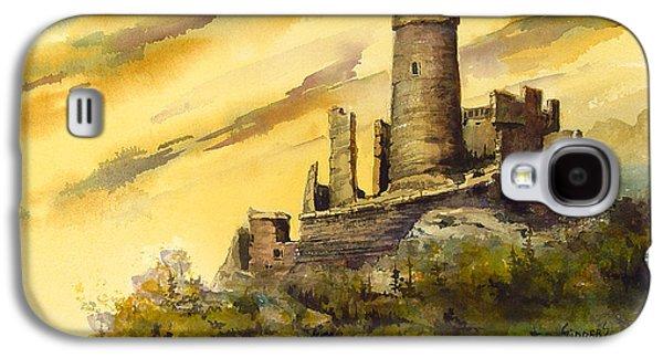 Castle Galaxy S4 Case - Furstenburg On The Rhine by Sam Sidders