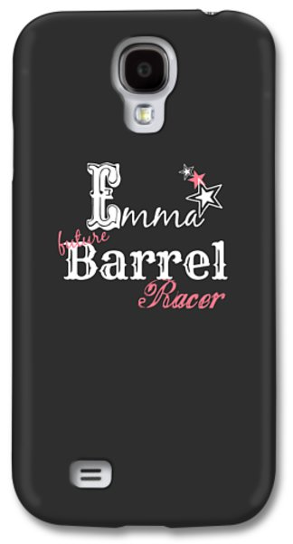 Future Barrel Racer Galaxy S4 Case by Chastity Hoff