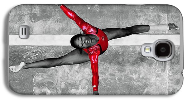 Gabby Douglas Galaxy S4 Case by Brian Reaves